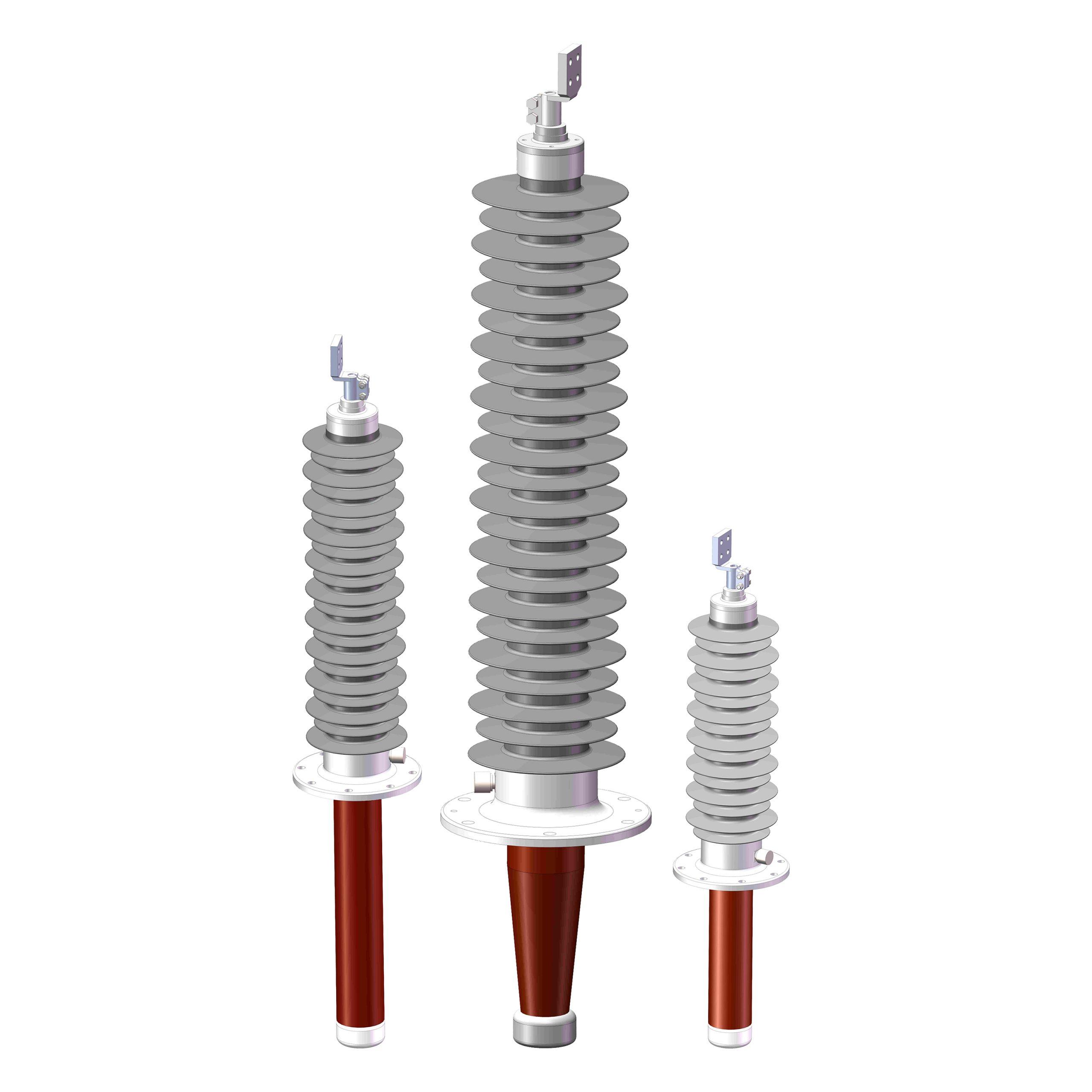 transformer high voltage bushing- (polymer bushing)