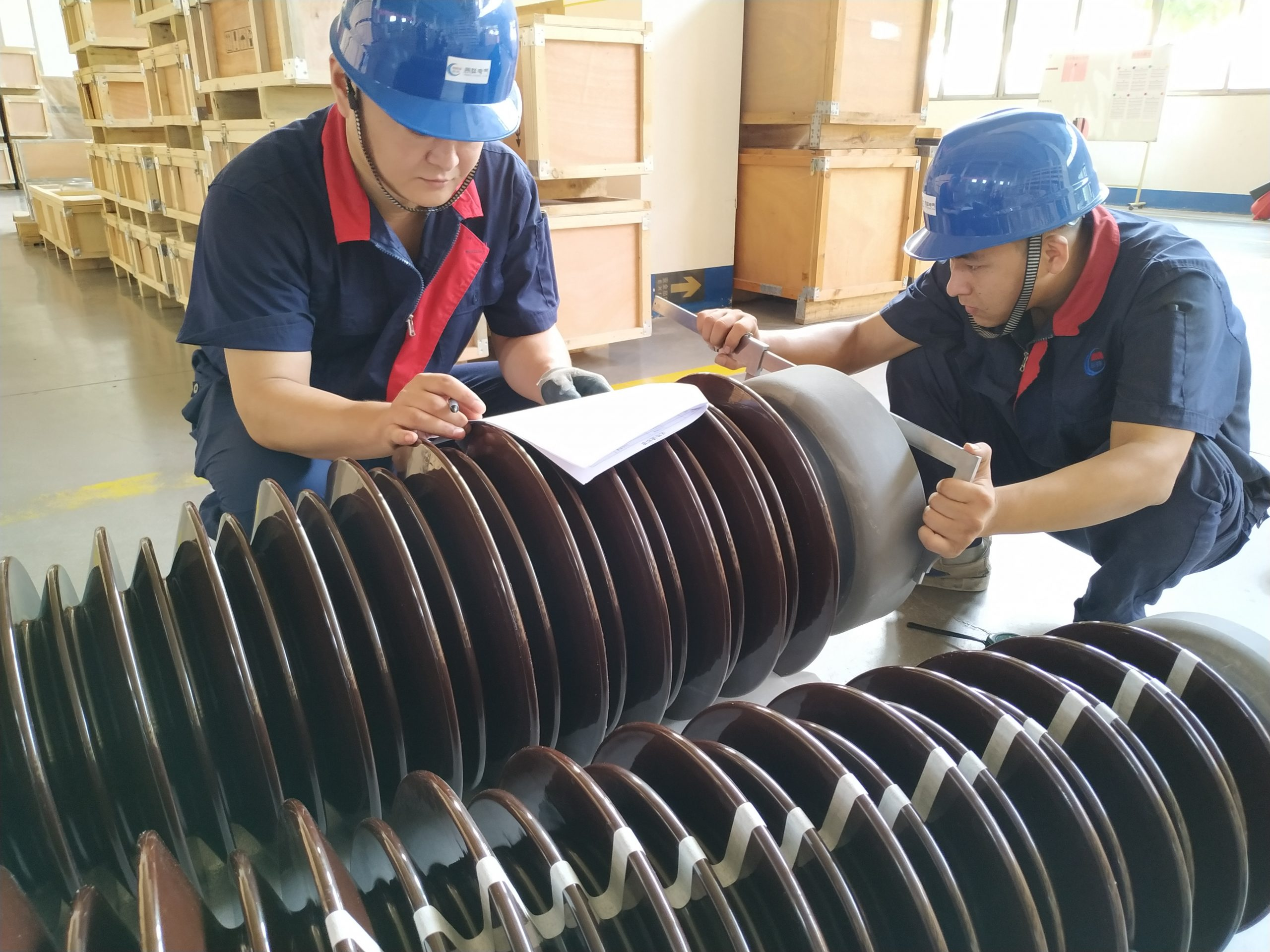 Transformer-Bushing-Pre-production-Inspection